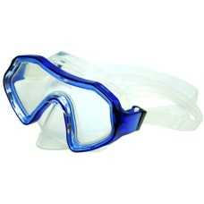 Duikmasker SMART Blauw Tr.Silicone Shallow