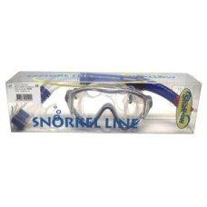 Diving SET HELIOS Silicone Blue Shallow