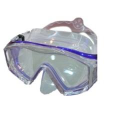 Divingmask HELIOS Silicone Blue Shallow