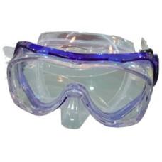 Duikmasker ATHOS Silicone Blauw Shallow