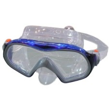 Divingmask CORAL Silicone Blue Shallow