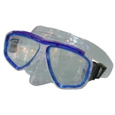 Duikmasker LYBRA blauw/trans.siltra Shallow