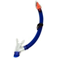 Snorkel Alisei blue/transp Silic. mouthpiece