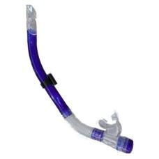 Snorkel Wave SR.Silicone+klep bl./tr.Shallow