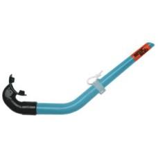 Snorkel LIX Aqua/mouthp.black EPDM Seac