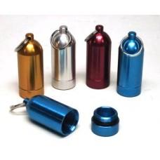 Keyring mini-tank alu ass. colors 6 cm.