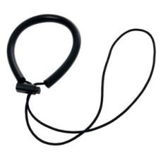 Diving lamp wrist-strap, black.