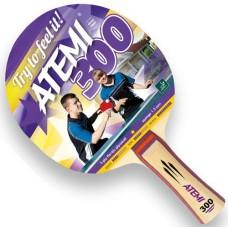 T.T.bat Atemi 300 Concave 1 ster ITTF rub