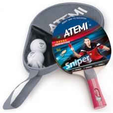 T.T.SET Atemi Sniper 1 bat m.2x 3 stars balls