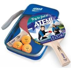 T.T.SET Atemi Duet 2 bats w.3x 1 star ball