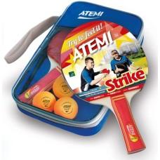 T.T.SET Atemi Strike 2 bats m.3x 3 stars balls