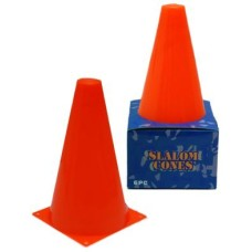 Cone set 4 pieces orange 17 cm