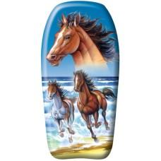 Bodyboard 82 cm with horse print