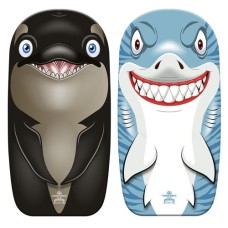 Bodyboard 82 cm with Shark and Orca print