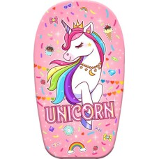 Bodyboard 82 cm with unicorn print