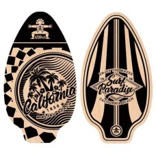 Skimboard Aroona 90x51 cm 2 assorti
