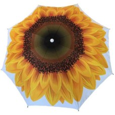Parasol 180 cm, Zonnebloem met UV