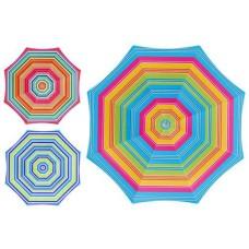 Parasol 180 cm, 3 assorted colors