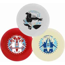 Frisbee 175 Gr.Ultimate 2 wit+1 rood Wham-O