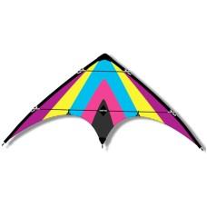 Kite ORKAN 160 x 80 cm, two lines on rings.