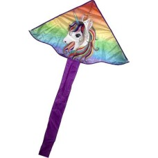 Kite Rainbowtail/Unicorn 115x65cm.1 line