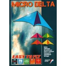 Vlieger MICRO DELTA I 19x46 cm.Knoop