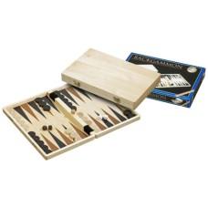 Backgammon 1111 bl.hout bedr.33x21cm.