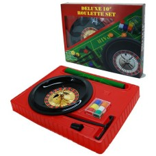 Roulette set compleet 10 inch/25 cm