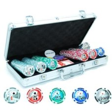 Pokerchips-case Alu Laser 300 chips 11 gr.HOT * delivery time unknown *