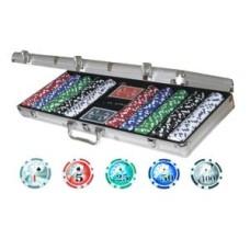 Poker koffer Alu 500 laser chips 11 gr. * verwacht februari/maart *