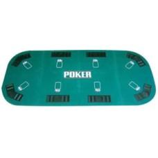 Pokertafel groot tabletop 180x90cm.vouwb.