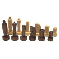Chessmen Berliner Boxw./Brown W+F 93mm. HOT * delivery time unknown *