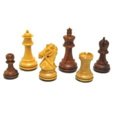 Chessmen Reign Knight Acacia/Boxw.DW/F 96mm * delivery time unknown *