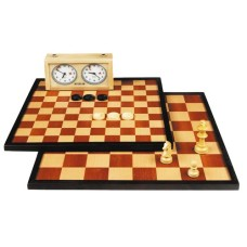 Chess-Draughtboa.inlaid 50/40mm.edge.42cm