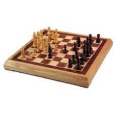 Chess-Set inlaid 40 cm.incl pieces