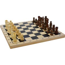 Chess set MDF wood printed 29x29 cm