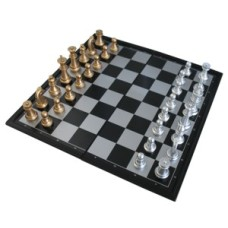 Chesscassette black plast.magnetic 25cm. * delivery time unknown *