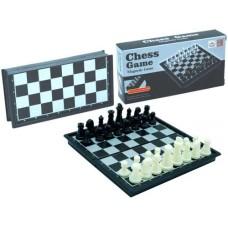 Chesscassette black plast.magnetic 13x6.5x2.4cm.