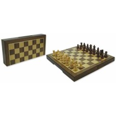 Chess casset magn. walnut 23x23x2 mm. * delivery time unknown *