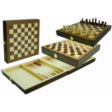 Chess-draughts-backg.-cass.inlaid.29x29cm