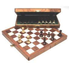 Chess fold.cass.Magnetic inlaid 27x13 cm