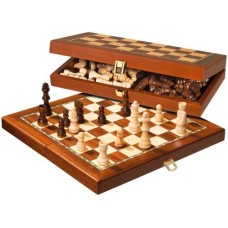 Chess 2614 fold.cassette Magn.inlaid 40cm.