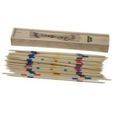 Mikado in blank houten kist 25 cm.HOT