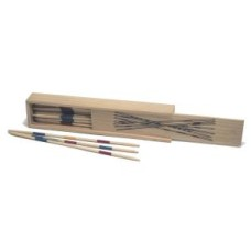 Mikado in natural wooden box 18 cm.HOT