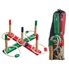 Quoits game 42 x 42 cm. in a net