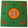 Mah-Jong speelkleed stof 80 x 80 cm.