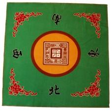 Mah-Jong speelkleed stof 80 x 80 cm. * verwacht week 28 *