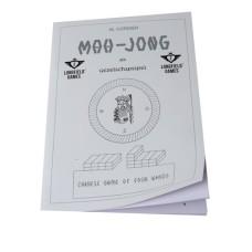 Mah-Jong spelregel-boek Nederl.BTW.9%