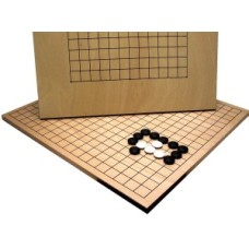 Go-board wood fineer double 19/13L 45x43cm