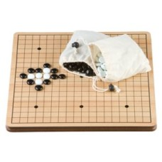 Go-Game 36 cm.MDF board/stones flats glass
